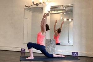 Yoga chasing the stretch