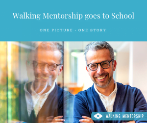 Walking Mentorship goes to school