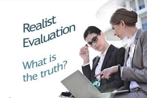 Realist Evaluation, what is the truth?
