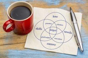 Ikigai: Love, Skills, Money, Needs