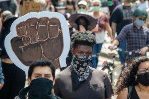 Racial injustice — Black lives matter