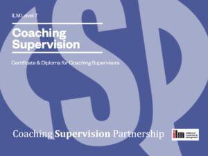 ILM qualified coach supervisor
